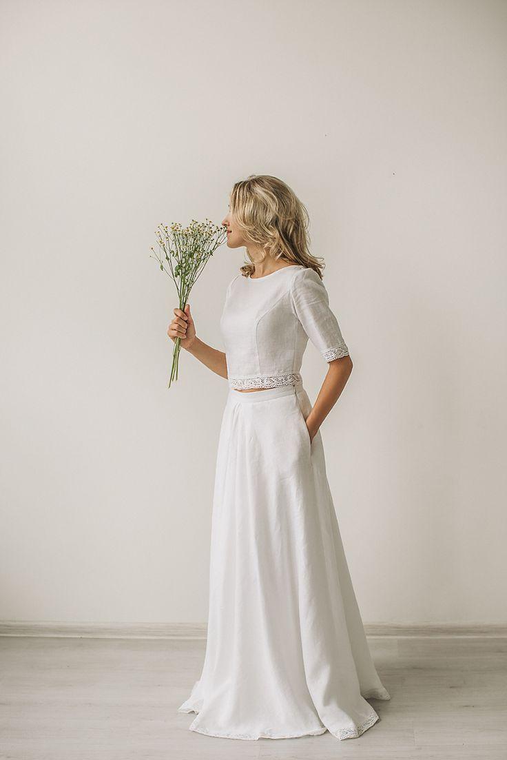 Dvojdielne svadobné šaty - Obrázok č. 11