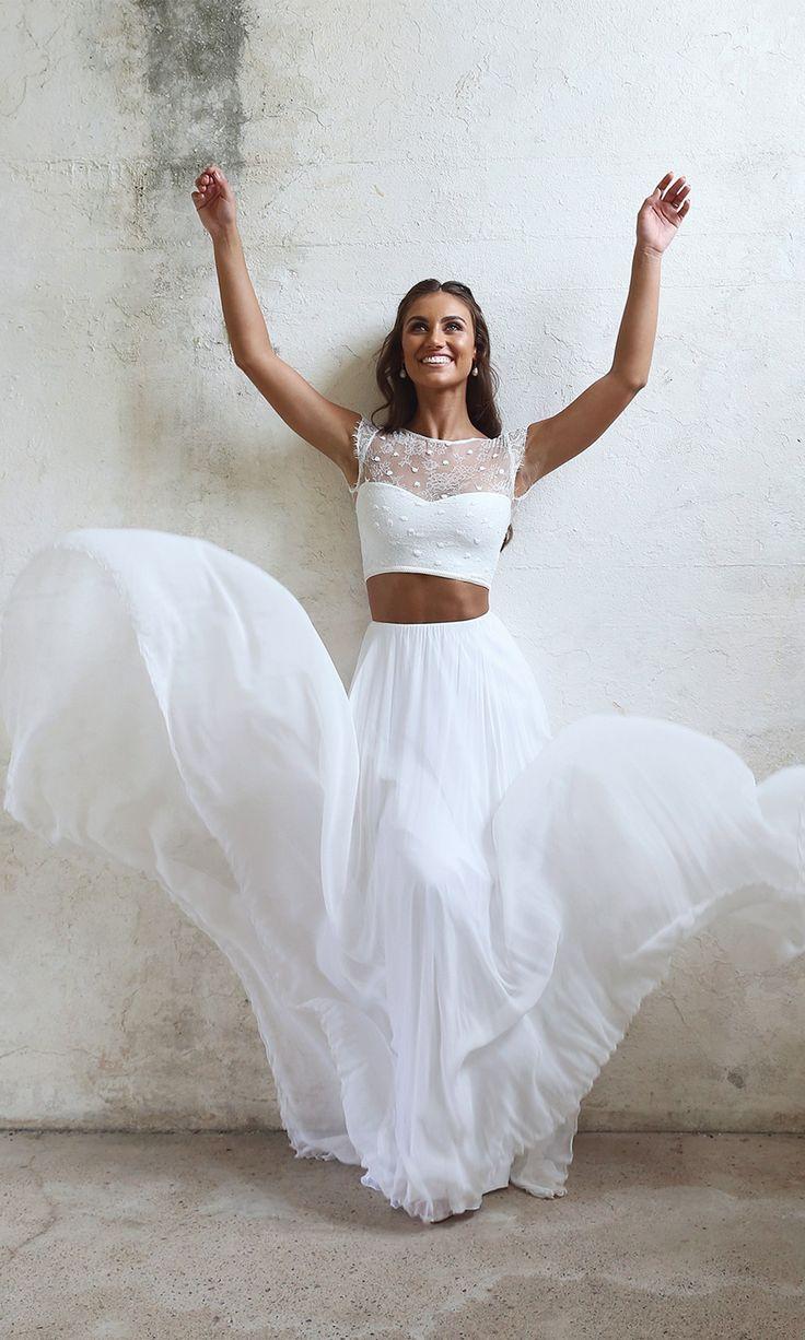 Dvojdielne svadobné šaty - Obrázok č. 15