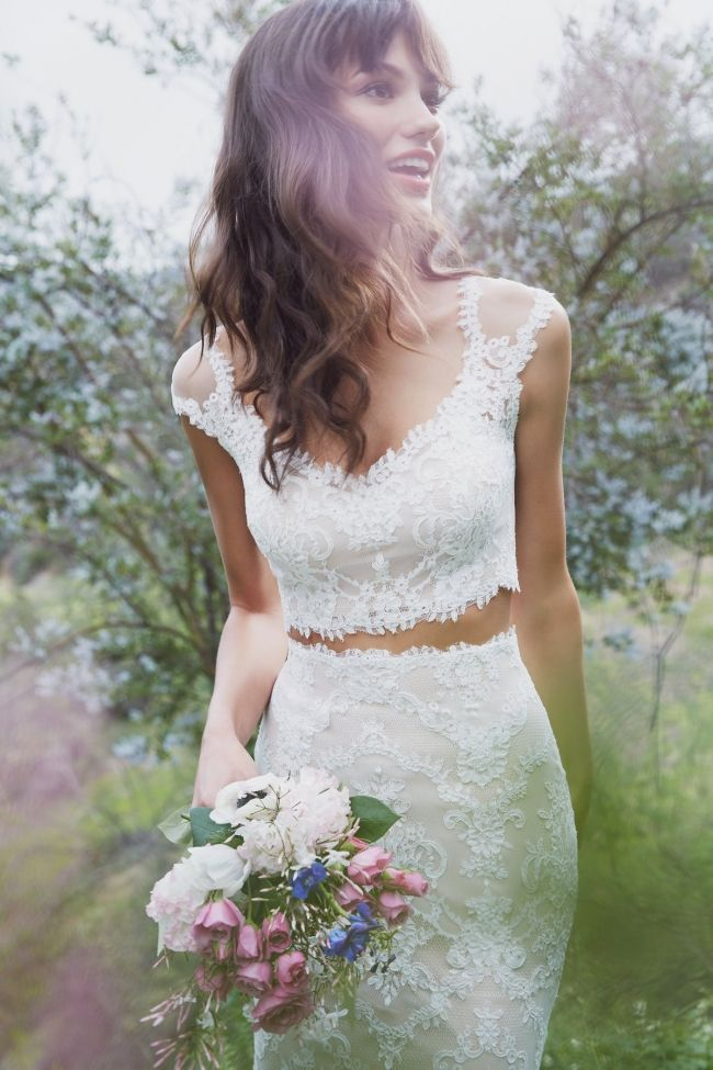 Dvojdielne svadobné šaty - Obrázok č. 19