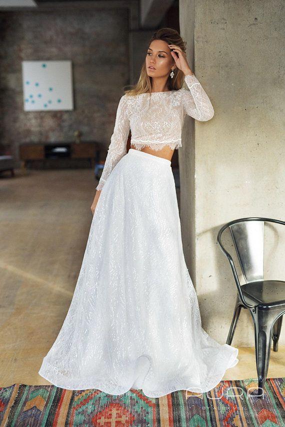 Dvojdielne svadobné šaty - Obrázok č. 21
