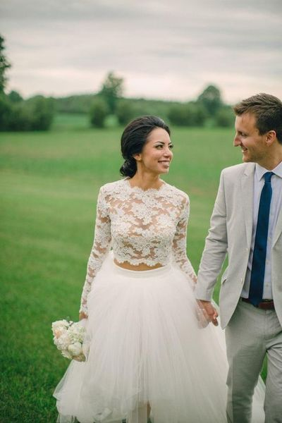 Dvojdielne svadobné šaty - Obrázok č. 23
