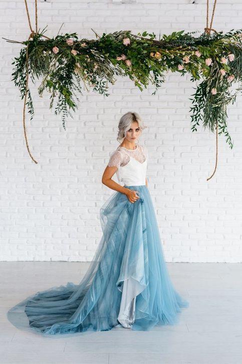 Dvojdielne svadobné šaty - Obrázok č. 24