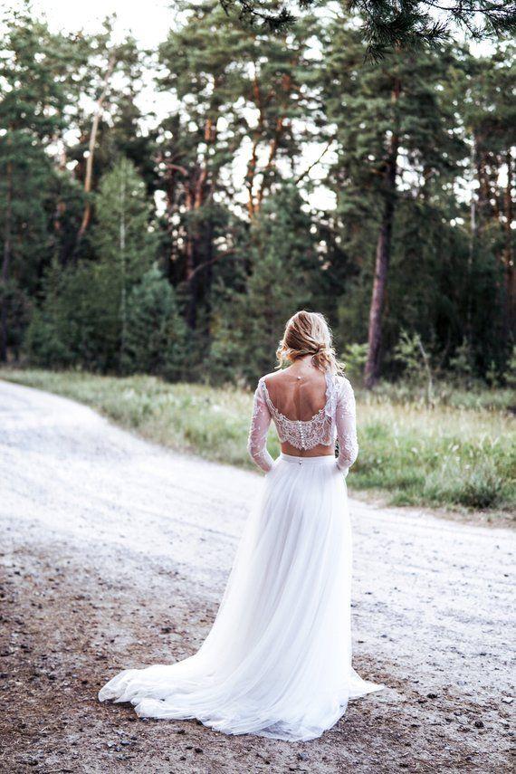 Dvojdielne svadobné šaty - Obrázok č. 25