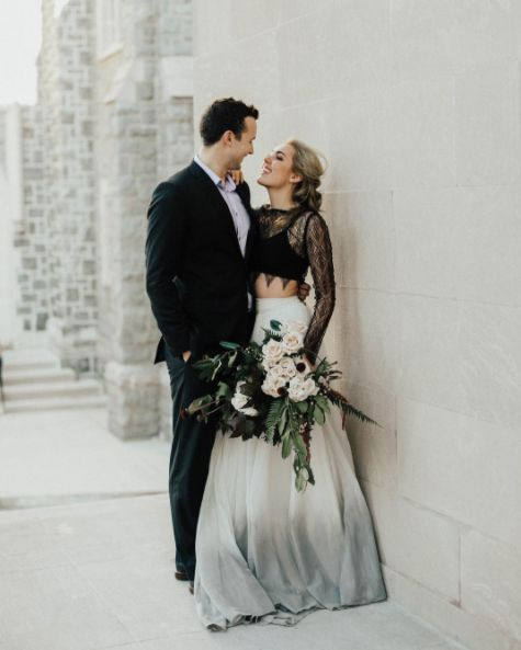 Dvojdielne svadobné šaty - Obrázok č. 33