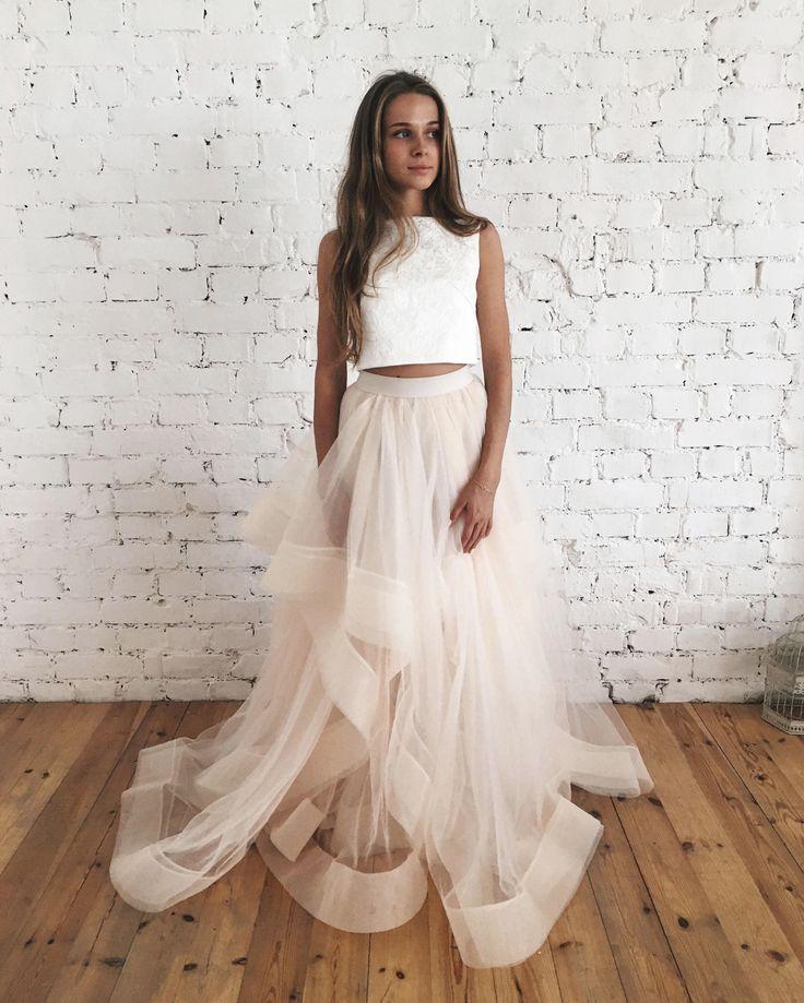 Dvojdielne svadobné šaty - Obrázok č. 37