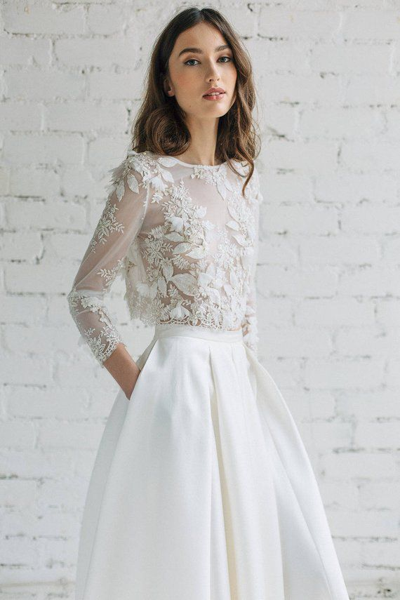 Dvojdielne svadobné šaty - Obrázok č. 41