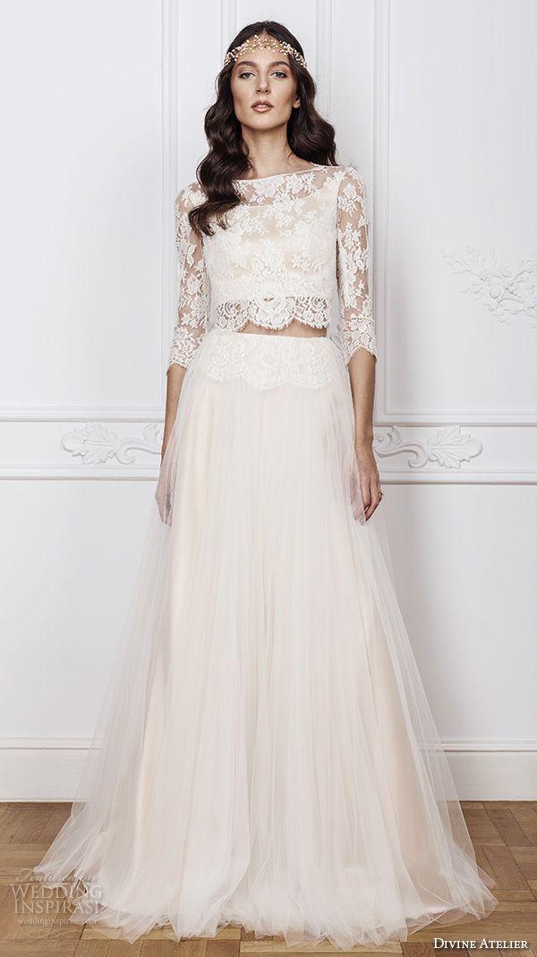 Dvojdielne svadobné šaty - Obrázok č. 42
