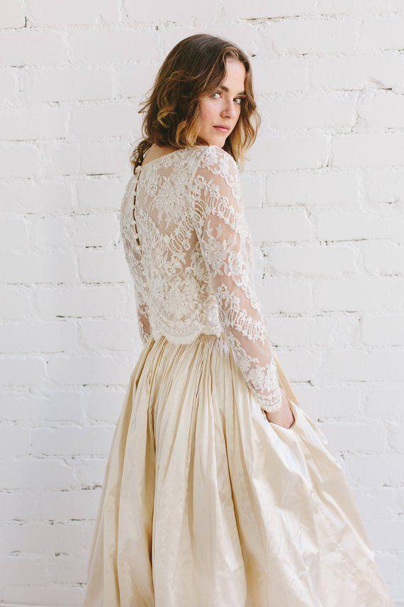 Dvojdielne svadobné šaty - Obrázok č. 44