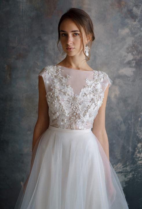 Dvojdielne svadobné šaty - Obrázok č. 48