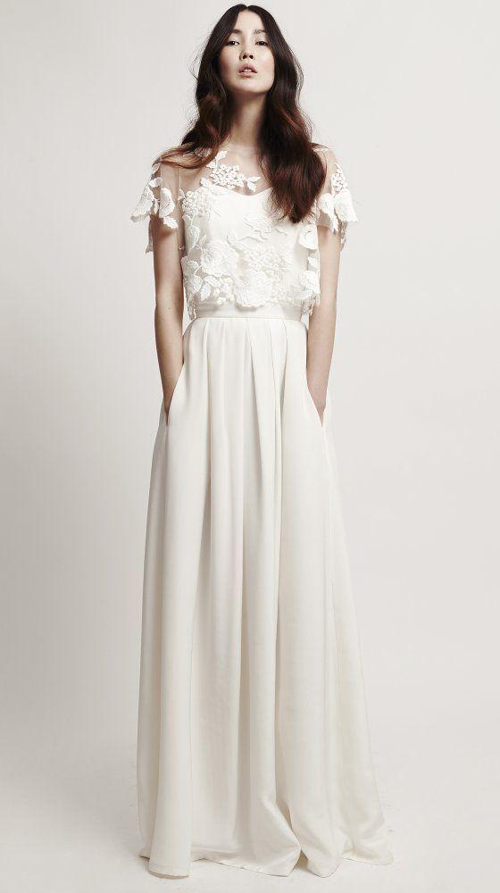 Dvojdielne svadobné šaty - Obrázok č. 49