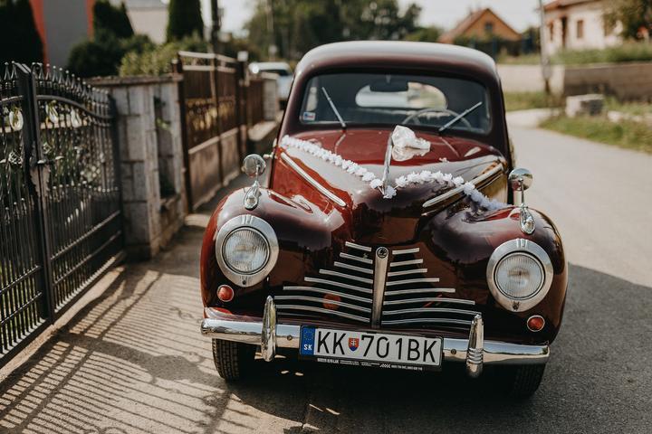 Svadobné autá, ktoré sa objavili na MS - Obrázok č. 1
