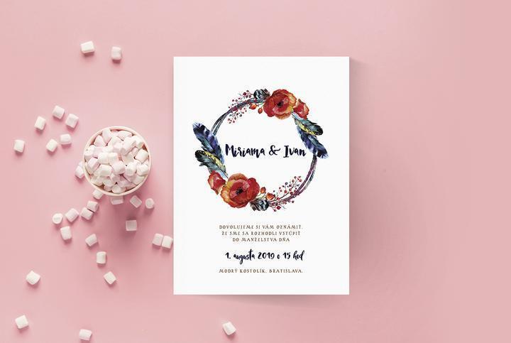 Všimla som si, že mnohé z vás hľadajú oznámenia s kvetinkami - pripravila som pre vás preto tento článok s 50 inšpiráciami na svadobné oznámenia s kvetinovým motívom :) Inšpirujte sa! https://mojasvadba.zoznam.sk/kvetinove-svadobne-oznamenia/ - Obrázok č. 1