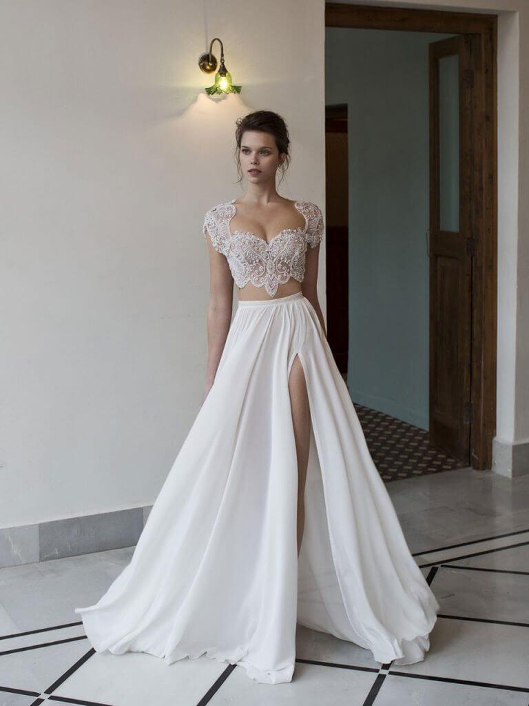 Dvojdielne svadobné šaty - Obrázok č. 51