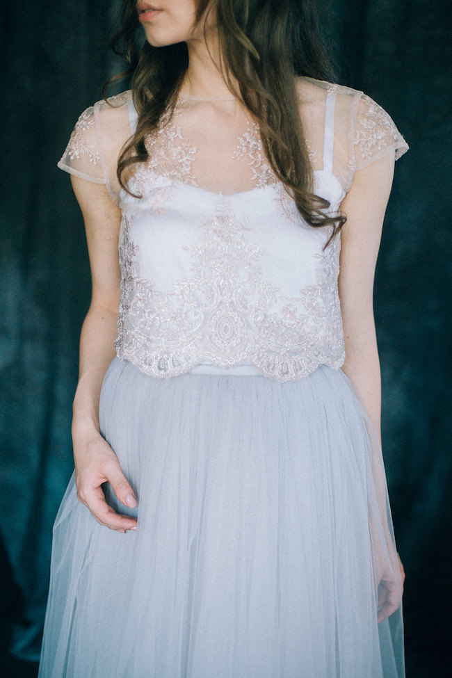 Dvojdielne svadobné šaty - Obrázok č. 53