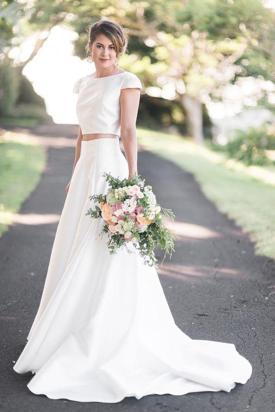 Dvojdielne svadobné šaty - Obrázok č. 55