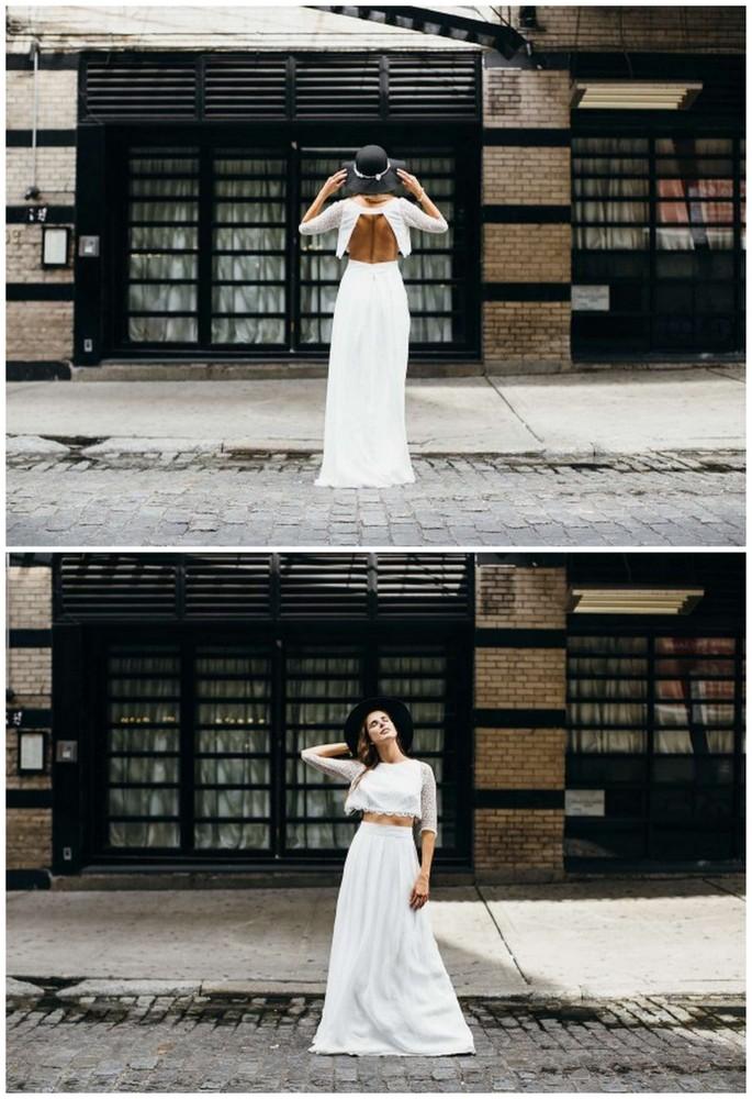 Dvojdielne svadobné šaty - Obrázok č. 60