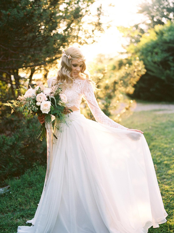 Dvojdielne svadobné šaty - Obrázok č. 63