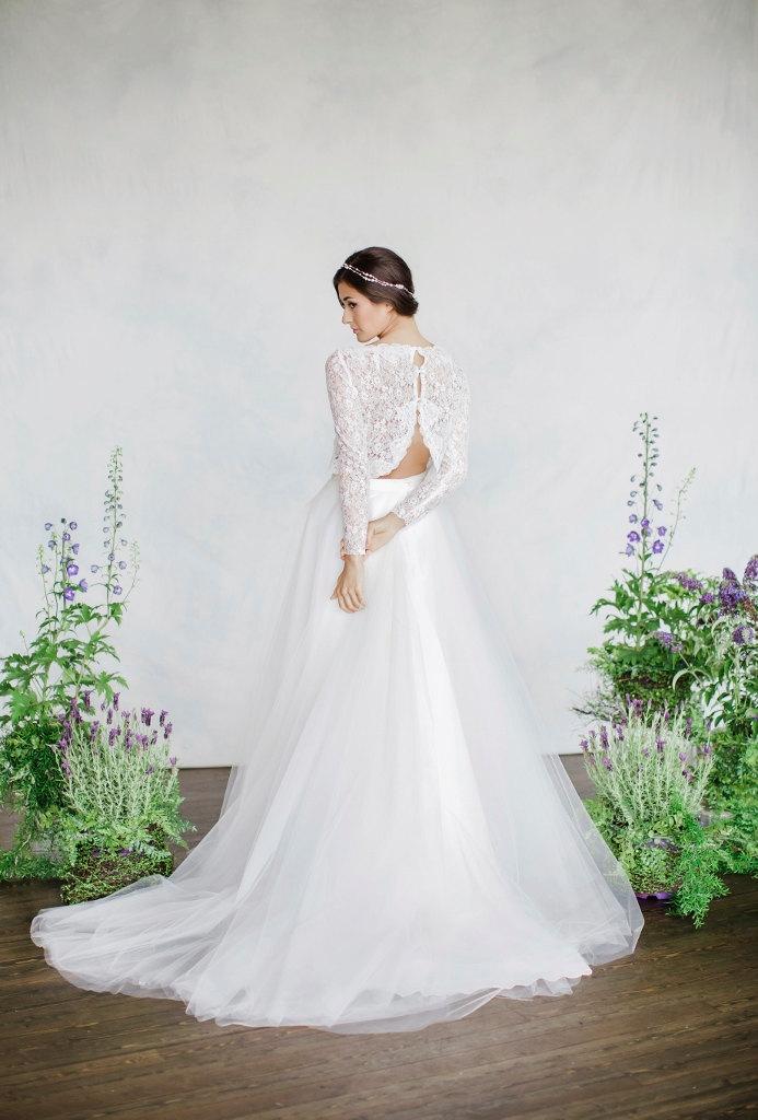 Dvojdielne svadobné šaty - Obrázok č. 65