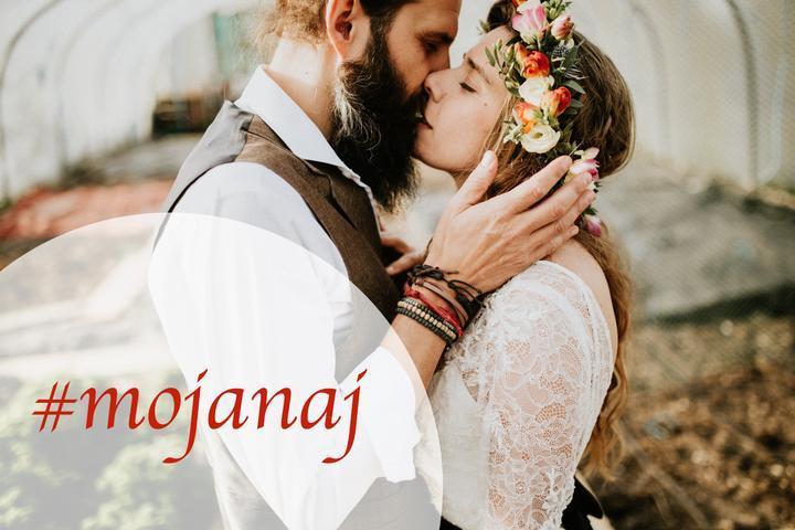 Spomínate si na výzvu #mojanaj? Vyberte najobľúbenejšiu fotku z vašej svadby a označte ju hashtagom #mojanaj :) Zaspomínajme si spoločne na vaše krásne svadby! - Obrázok č. 1