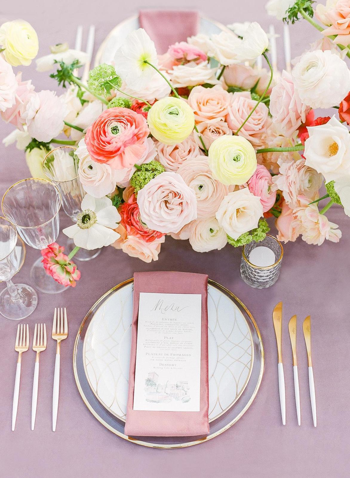 Inšpirácie na svadobné stolovovanie - Obrázok č. 11