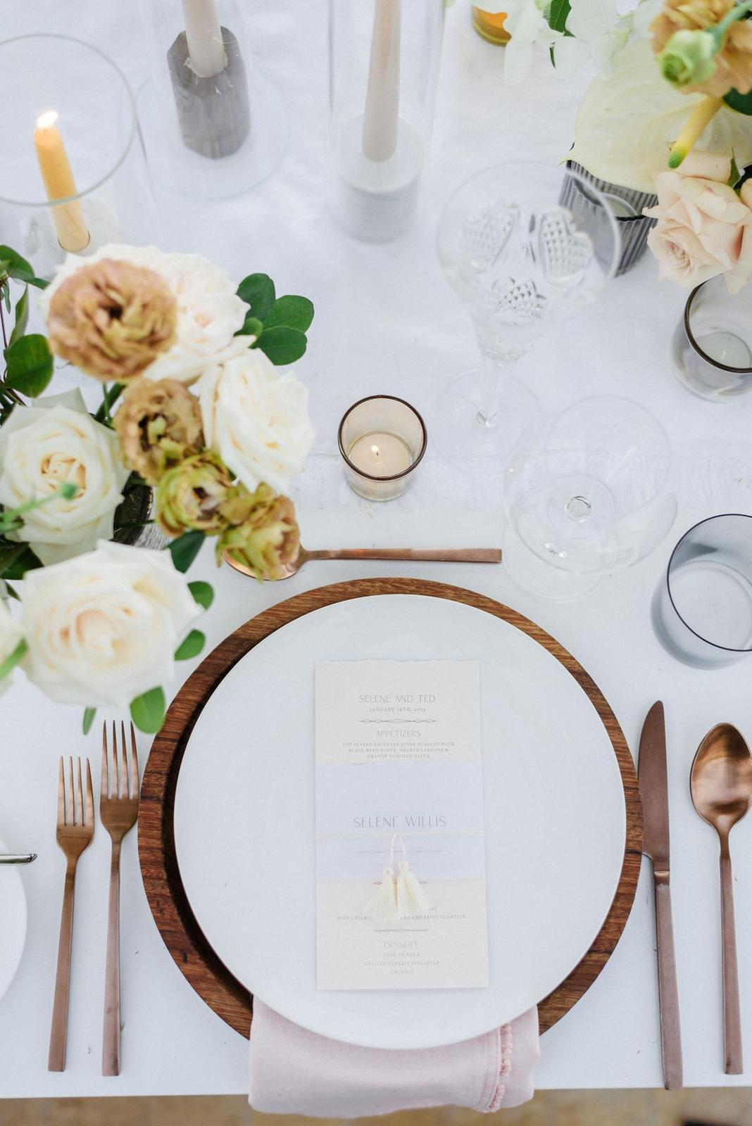 Inšpirácie na svadobné stolovovanie - Obrázok č. 39