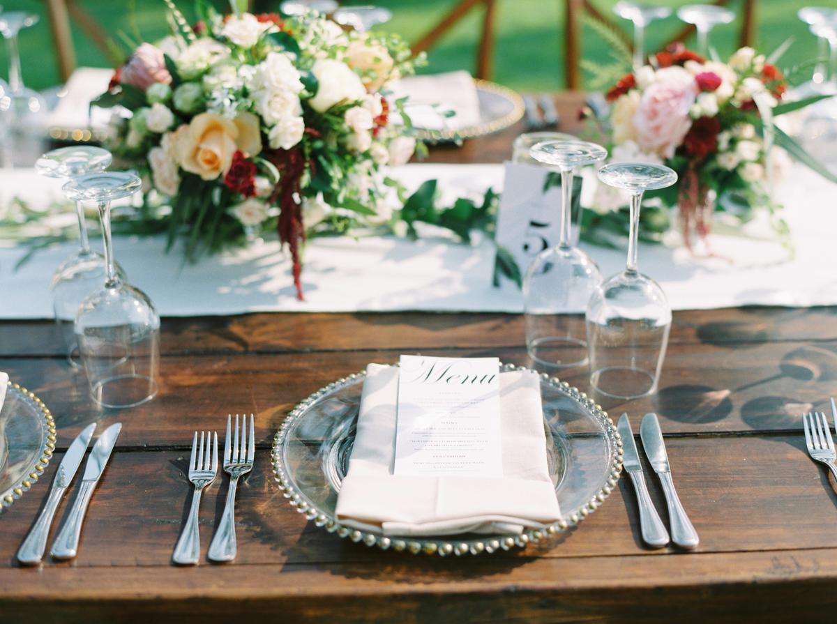Inšpirácie na svadobné stolovovanie - Obrázok č. 45