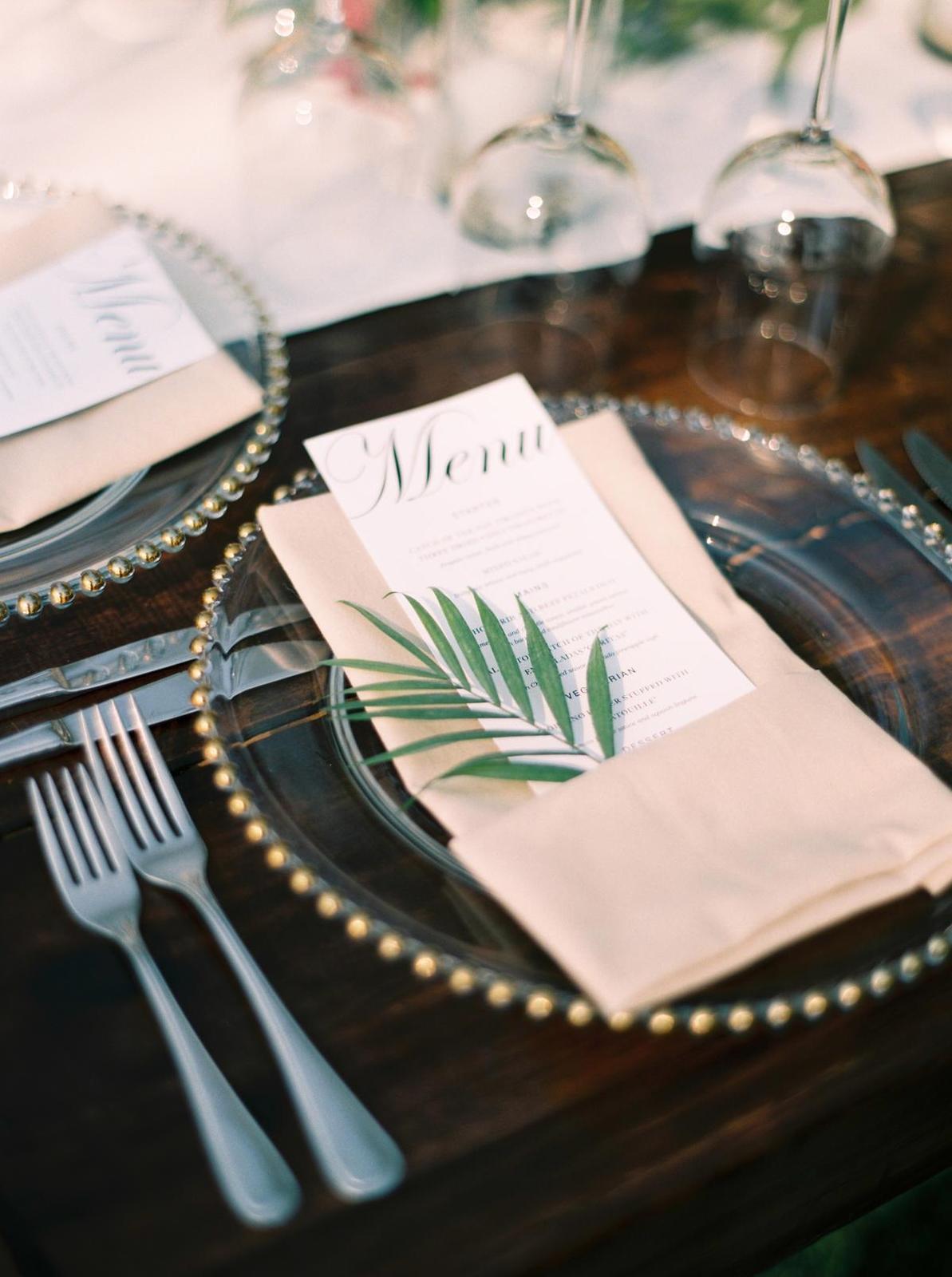 Inšpirácie na svadobné stolovovanie - Obrázok č. 46
