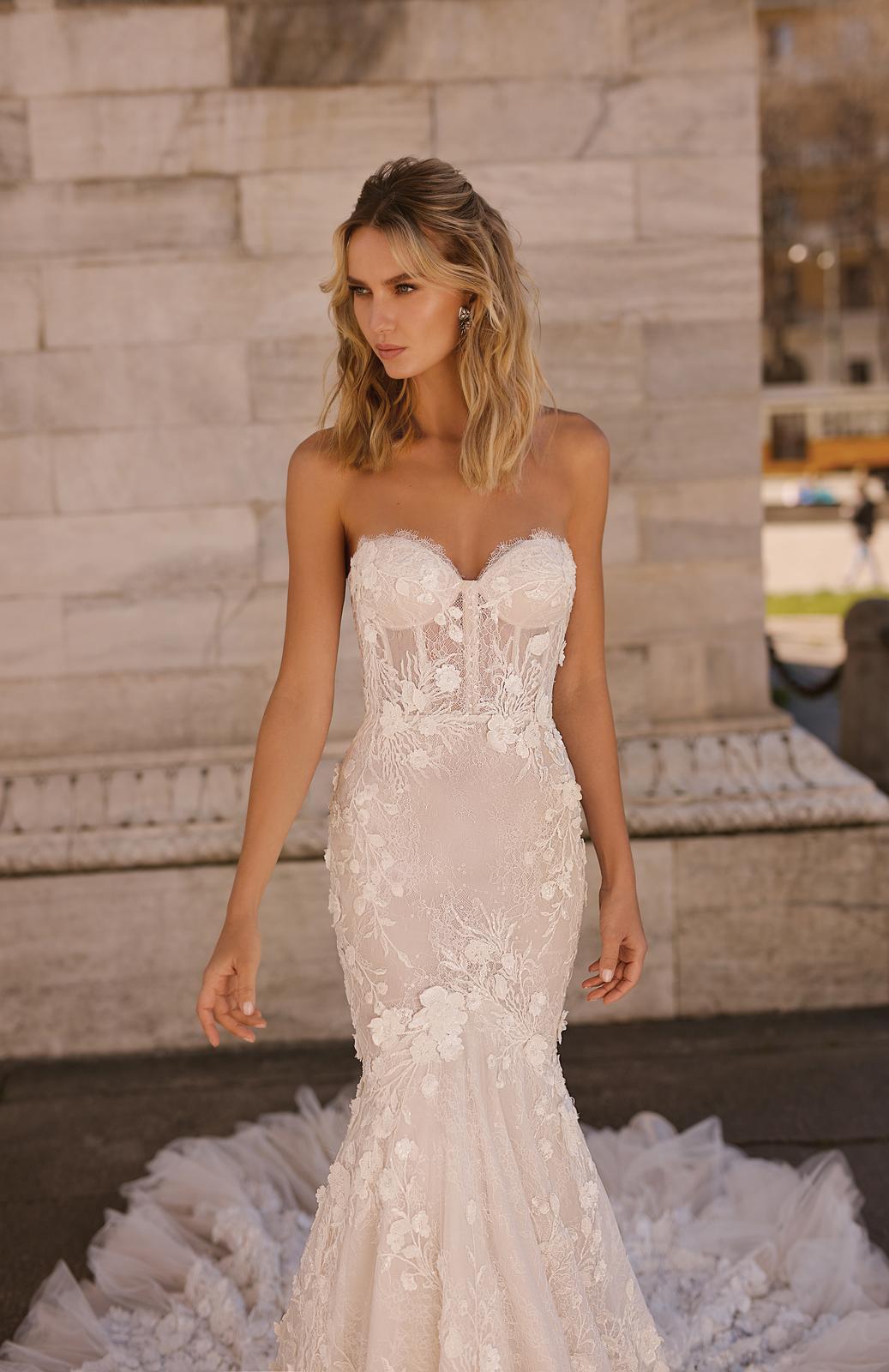 Svadobné šaty jar/leto 2020 BERTA Miláno - Obrázok č. 4