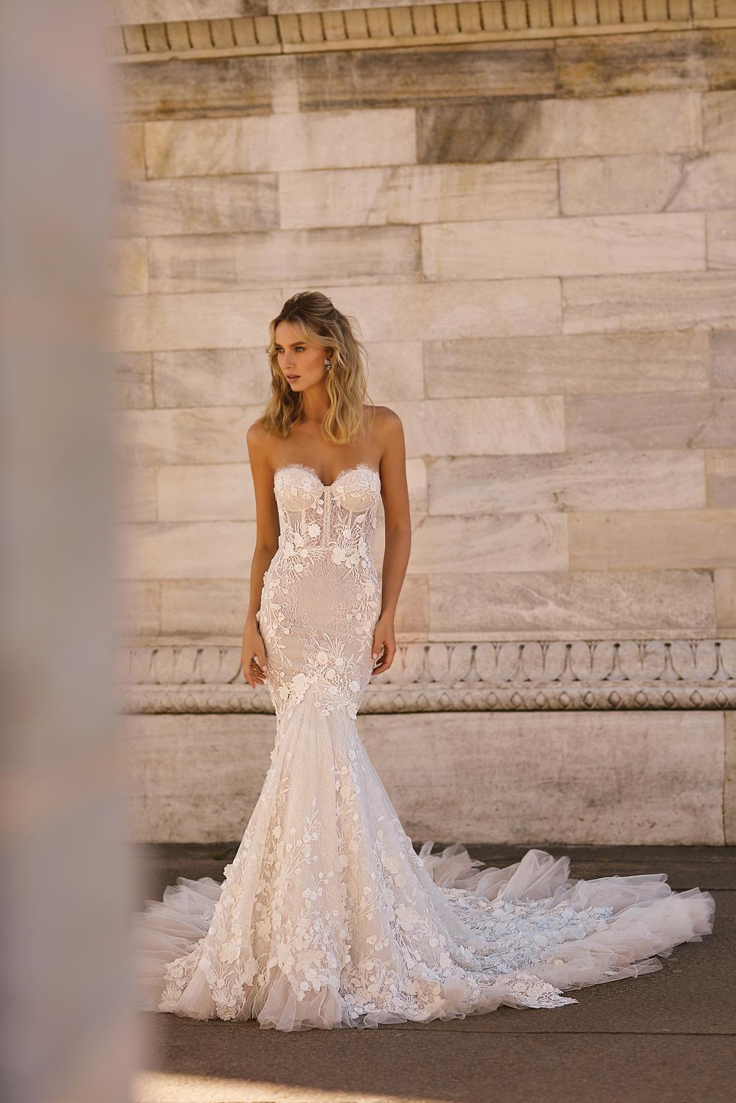 Svadobné šaty jar/leto 2020 BERTA Miláno - Obrázok č. 5