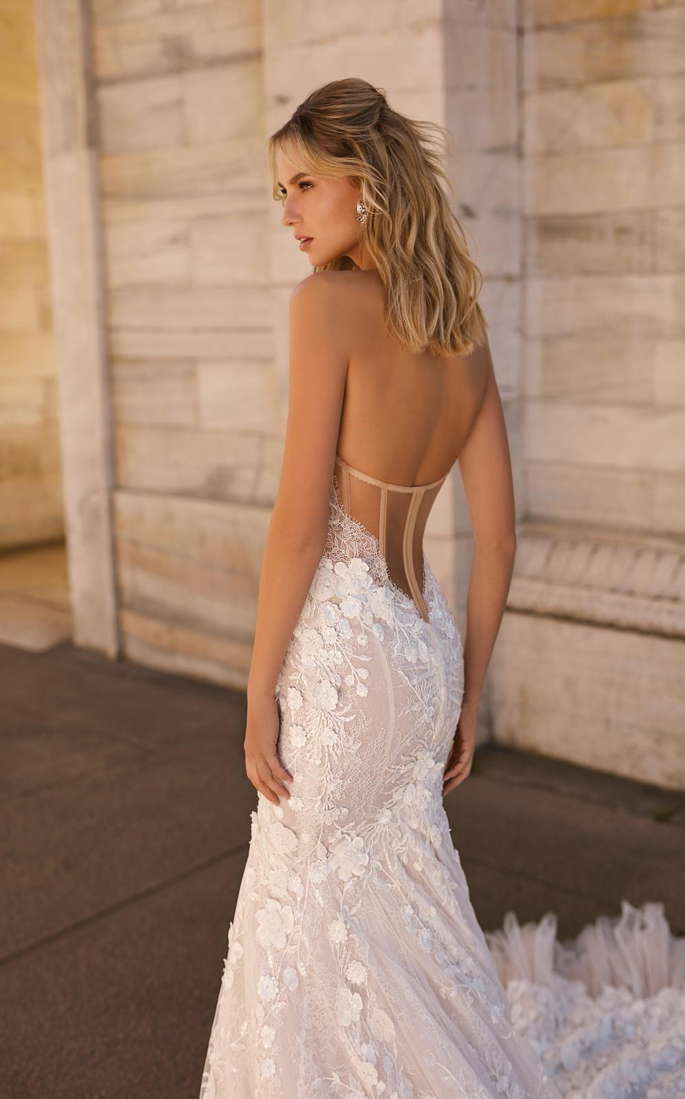 Svadobné šaty jar/leto 2020 BERTA Miláno - Obrázok č. 6