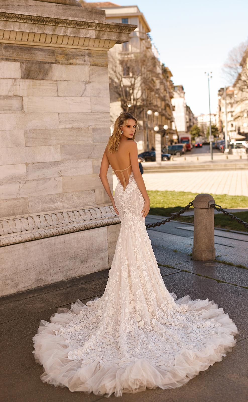 Svadobné šaty jar/leto 2020 BERTA Miláno - Obrázok č. 7