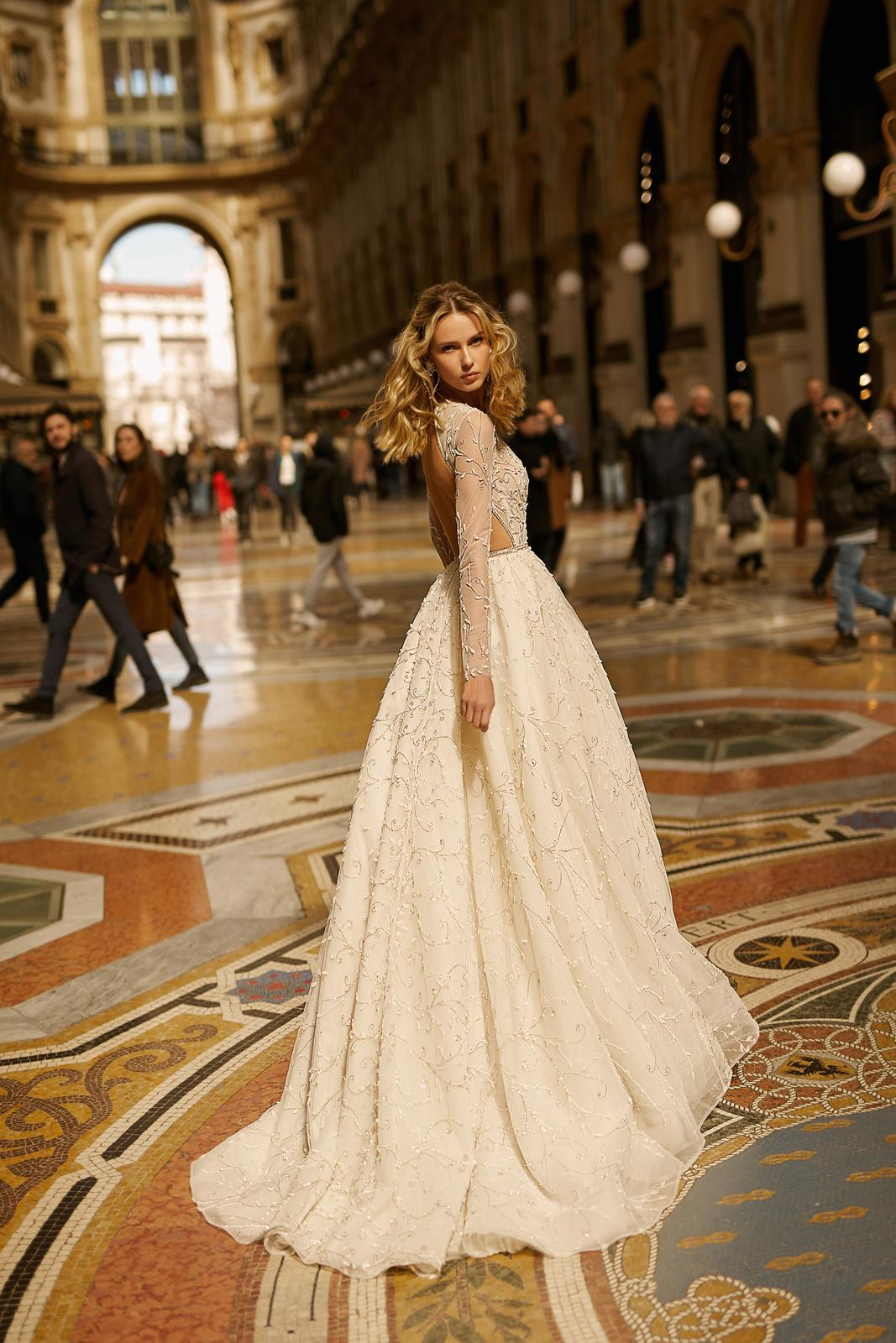 Svadobné šaty jar/leto 2020 BERTA Miláno - Obrázok č. 11