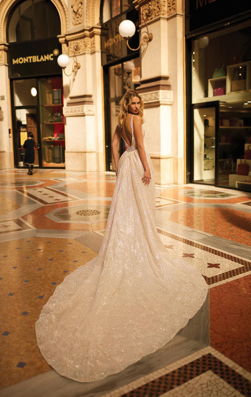 Svadobné šaty jar/leto 2020 BERTA Miláno - Obrázok č. 13