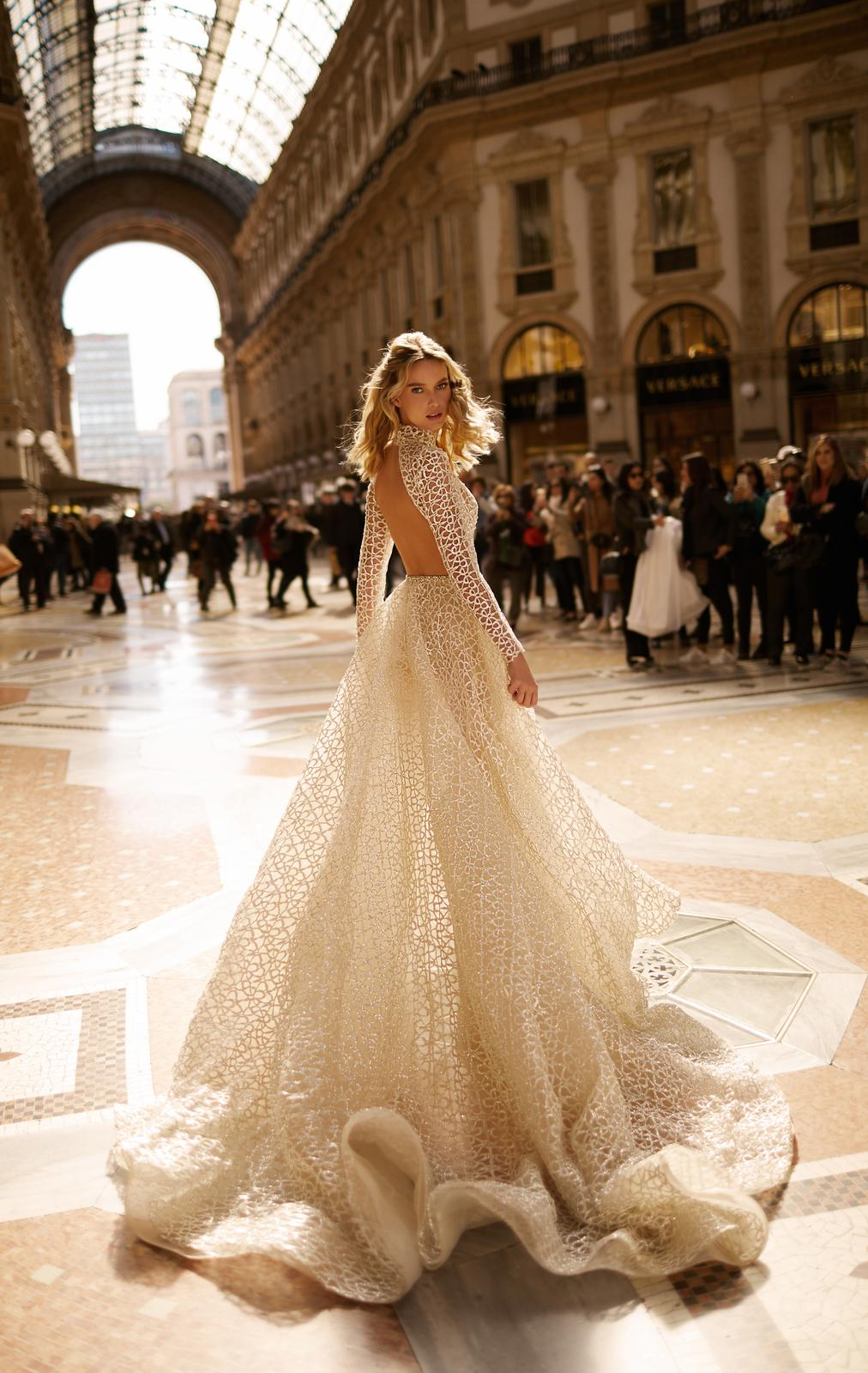Svadobné šaty jar/leto 2020 BERTA Miláno - Obrázok č. 21
