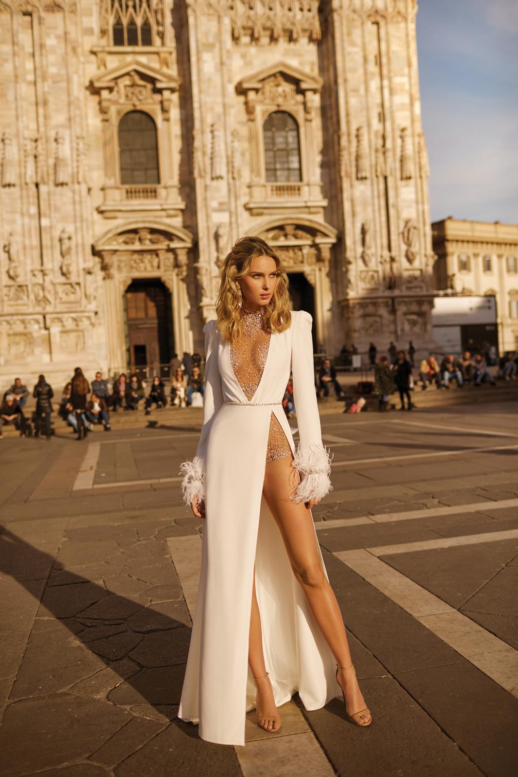 Svadobné šaty jar/leto 2020 BERTA Miláno - Obrázok č. 35