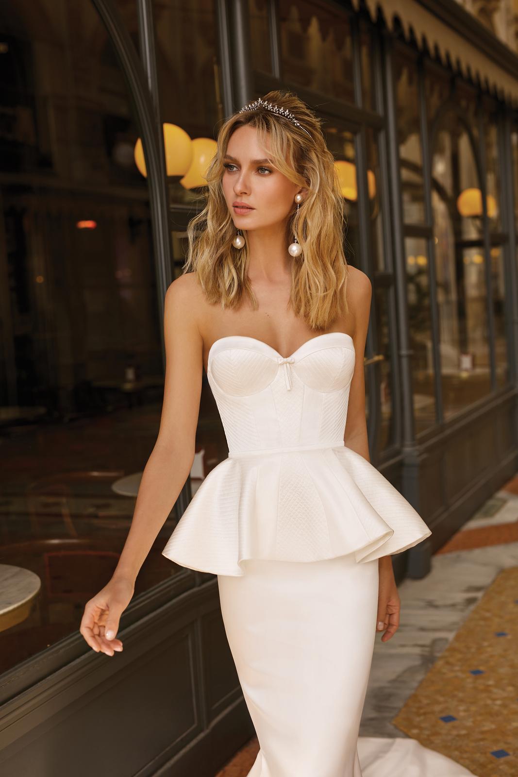 Svadobné šaty jar/leto 2020 BERTA Miláno - Obrázok č. 40