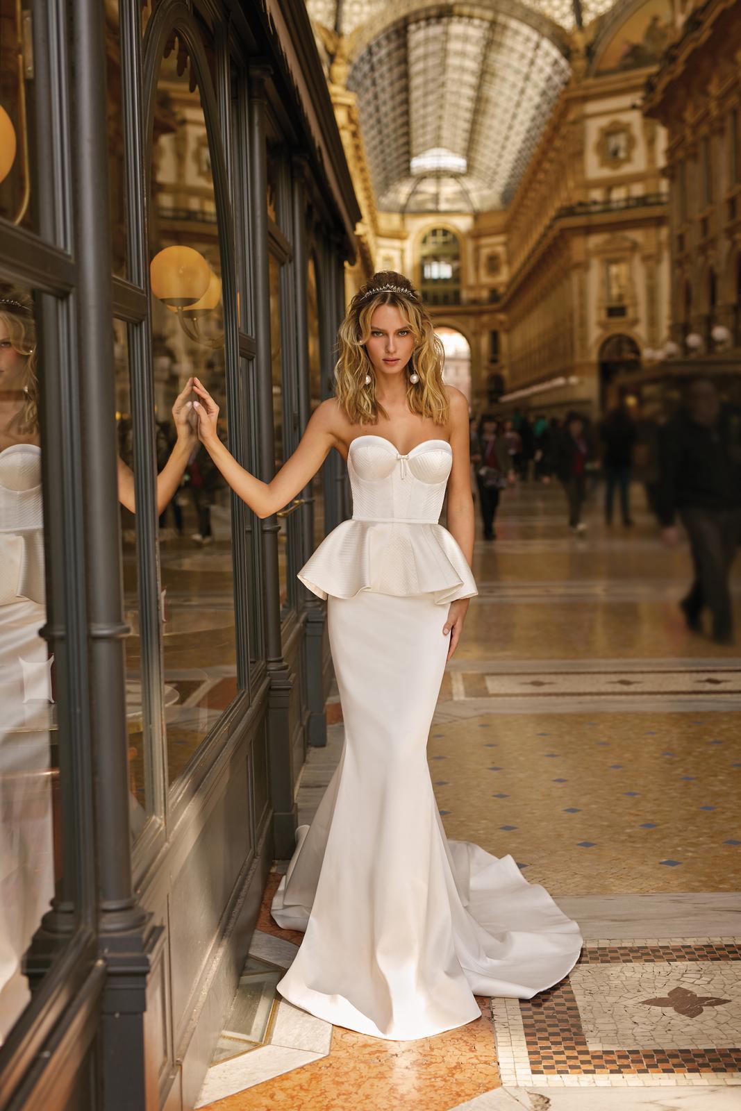 Svadobné šaty jar/leto 2020 BERTA Miláno - Obrázok č. 41