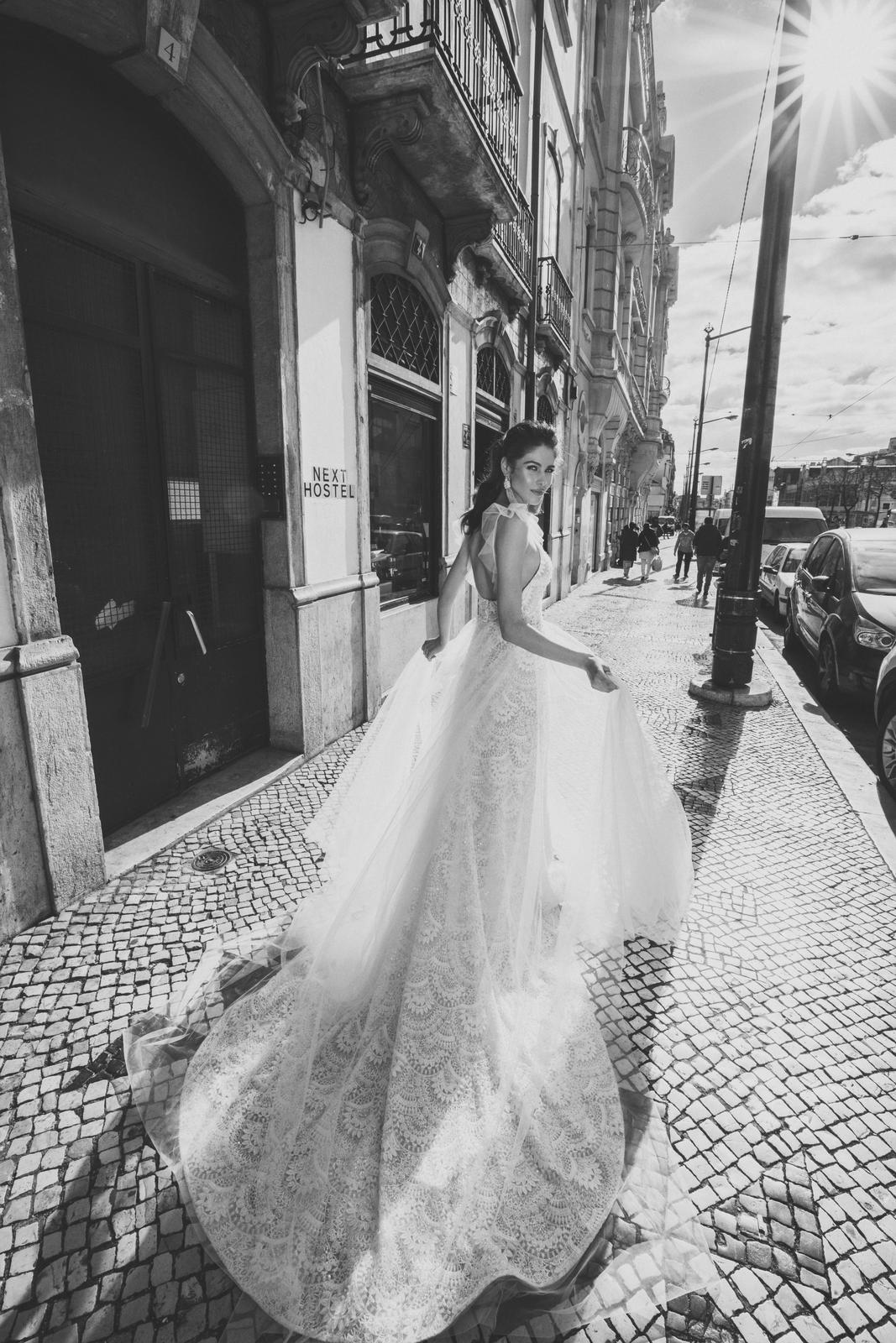 Svadobné šaty Innocentia inšpirované Lisabonom - Obrázok č. 17