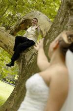 aj na strom vyliezol :-)