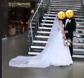 Katedrálový svadobný závoj,