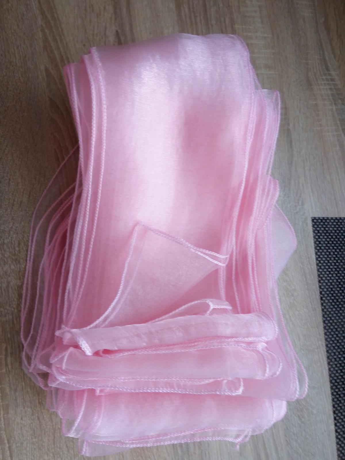 mašle na židle Růžová - Obrázek č. 1