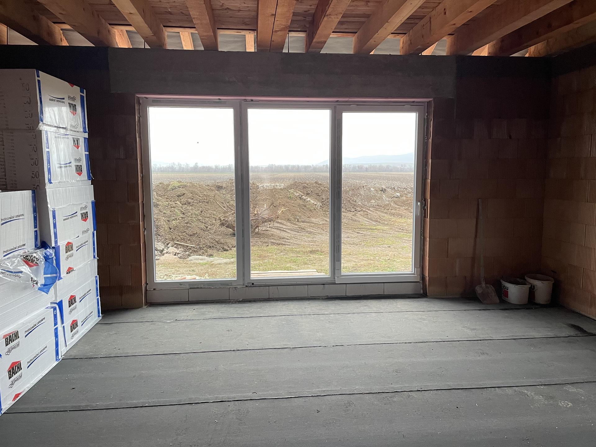 Náš domov :) - Obývačkové okno, 3,5m PSK systém