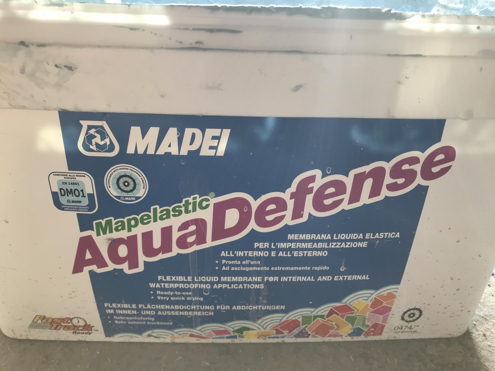 Mapei Aqua Defense hydroizolácia (15kg) - Obrázok č. 2