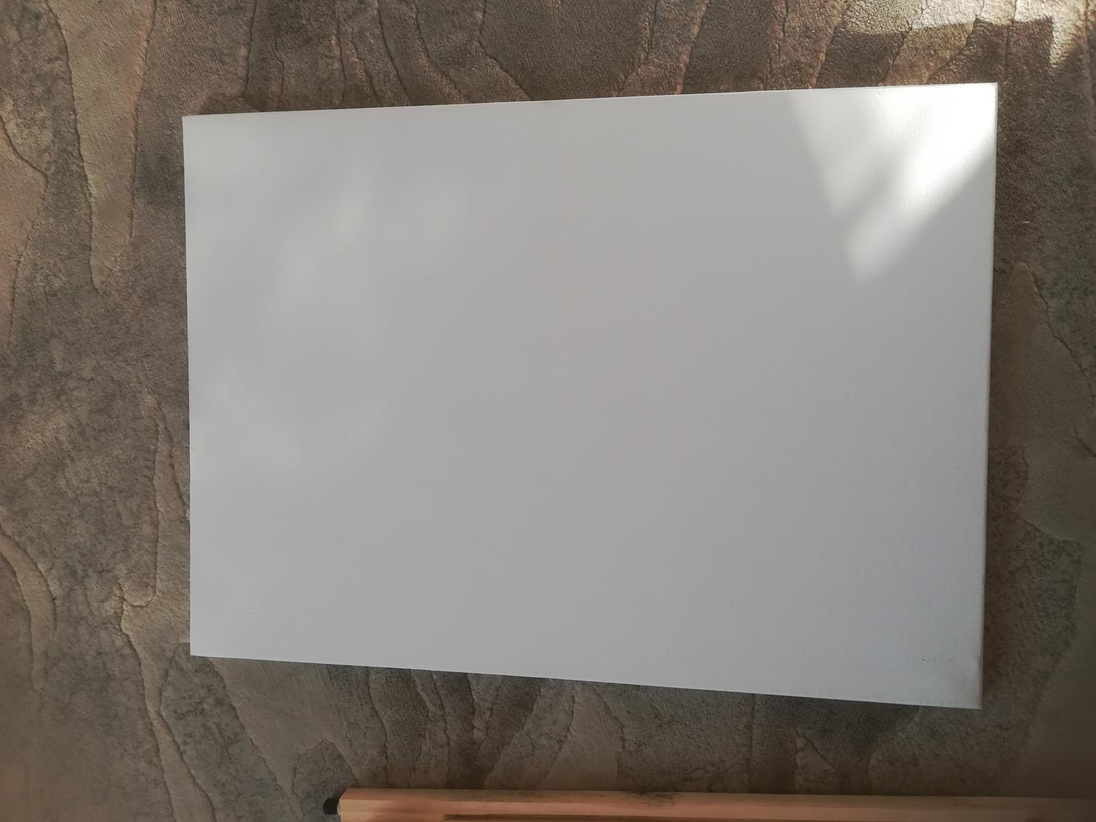 Stojan maliarsky na zasadací poriadok + plátno - Obrázok č. 1