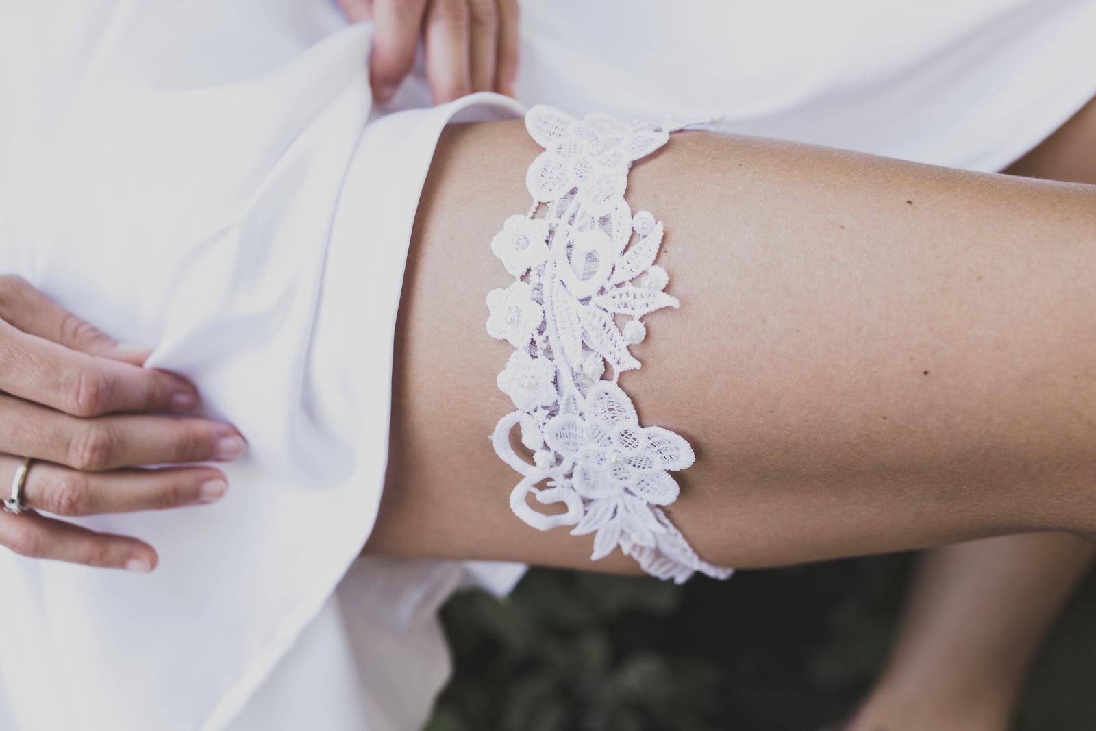 Svatební podvazky MAJA's FANCY - Svatební podvazek MAJA's FANCY