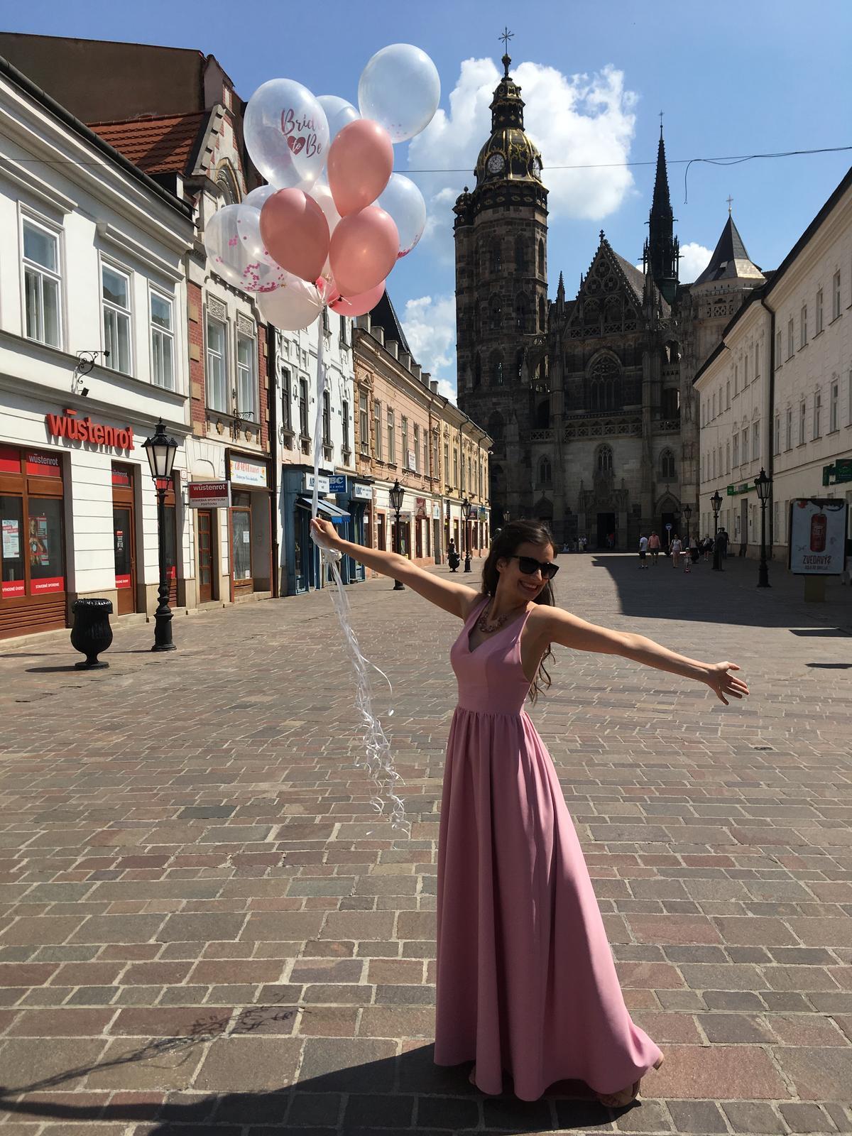 Baby pink druzickovske saty, XS/S - Obrázok č. 1