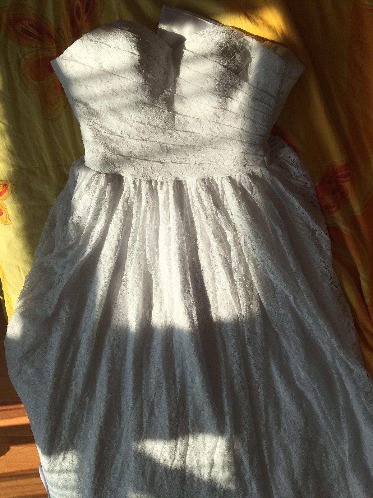 Celokrajkové šaty - N o v é - XS až S - Obrázek č. 3