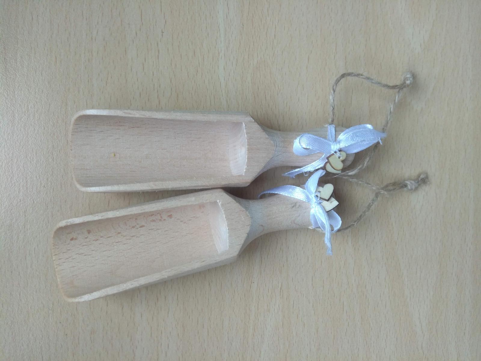 Dřevěné naběračky - Obrázek č. 1