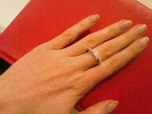 zásnubní prstýnek s briliantky