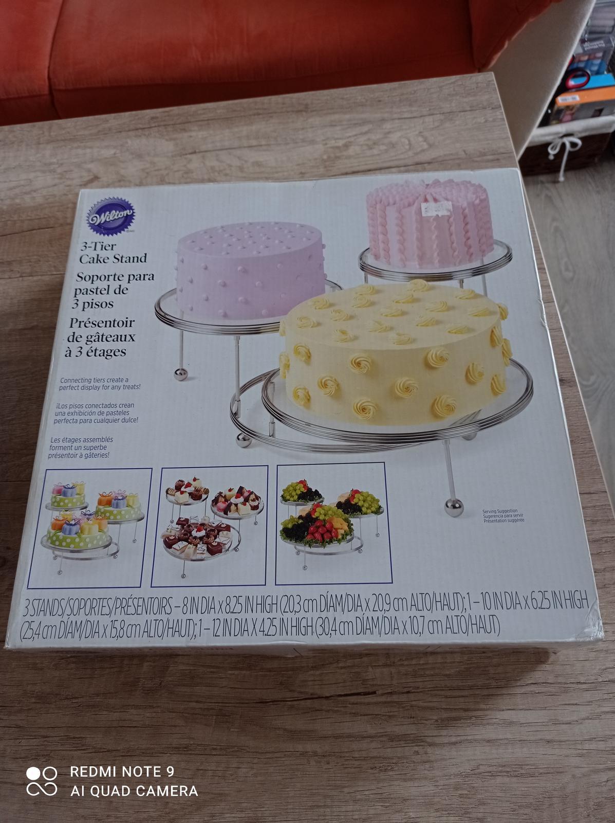 Podnos na 3 ks dortu Vilton - Obrázek č. 1